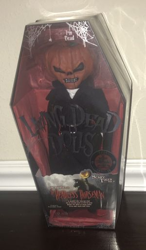 New Living Dead Doll Headless Horseman just $40 Firm for Sale in Port St. Lucie, FL