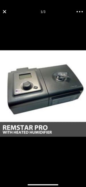 Remstar pro CPAP with humidifier for Sale in Avondale, AZ