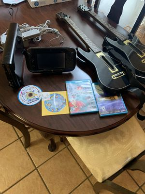 Wii u like new trade for nintendo switch games for Sale in Paterson, NJ