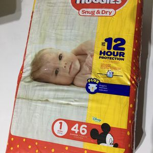 Diapers Huggies Size1 for Sale in Victorville, CA
