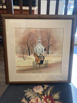 "Print - ""Long Grove Memories"" for Sale in Amherst,  VA"