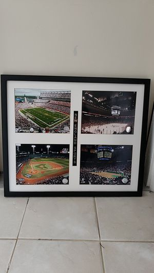 Framed New England Sports for Sale in San Diego, CA