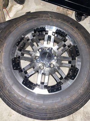 205 75 r15 trailer wheels(2 wheels and tires) for Sale in San Diego, CA