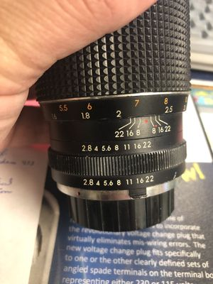 Camera lens for SLR. FOCAL MC AUTO Reduced! for Sale in Rochester, NY