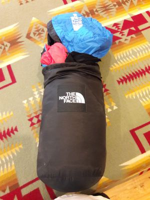 """The North Face """"Blue Kazoo"""" Large Mummy Sleeping Bag Blue Nylon Goose Down for Sale in Austin, TX"""