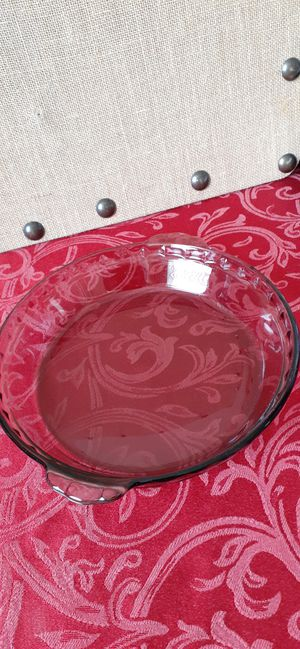 $4 Pyrex Pie Plate Dish 24 cm for Oven or Microwave for Sale in Hemet, CA