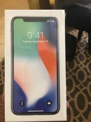 iPhone X 256GB for Sale in Severn, MD