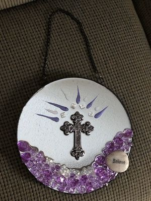 Custom Royal Cross Mirror Decor for Sale in Doyline, LA