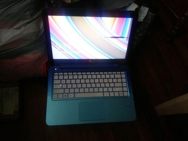 Hp blue stream notebook