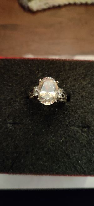 Antique sterling silver 925 CZ diamond ring for Sale in Pleasant Hill, IA