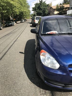 2010 Hyundai Accent 2 Door Manual for Sale in Seattle, WA