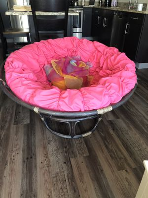 Pier One Papasan Chair (Price Negotiable) for Sale in Pittsburgh, PA