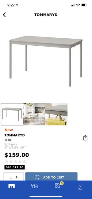 IKEA TOMMARYD Bar Table for Sale in Seattle, WA