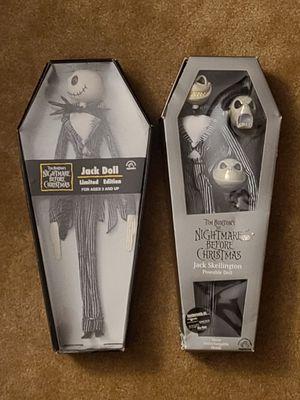 Nightmare Before Christmas original Jack dolls for Sale in Fort Lauderdale, FL
