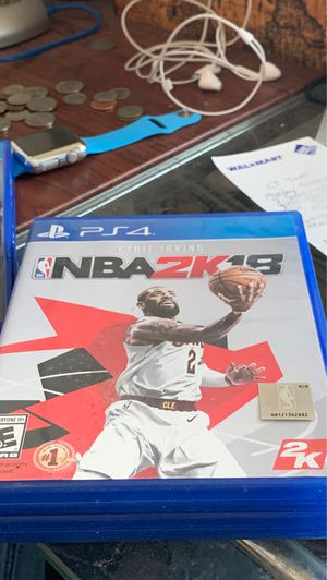 NBA 2K18 PS4 FREE DELIVERY for Sale in San Diego, CA
