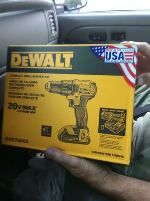 DeWalt compact drill driver kit for Sale in Washington, PA