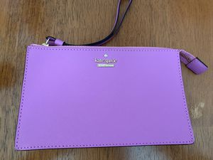 Kate Spade Purple Wristlet Purse for Sale in Alexandria, VA