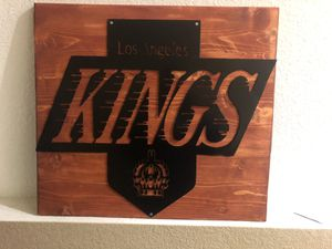 NHL metal and wood Sings for Sale in Lancaster, CA
