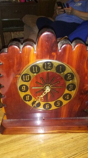 A home made clock for Sale in Hannibal, MO