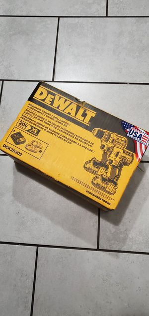 DEWALT 20 VT MAX BRUSHLESS XR SET NEW.NUEVO for Sale in Long Beach, CA