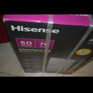Hisense dehumidifier for Sale in Tallahassee, FL