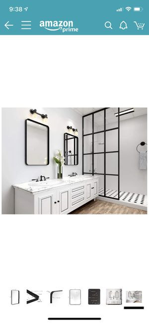 NEW wall or bathroom mirror for Sale in Mesa, AZ