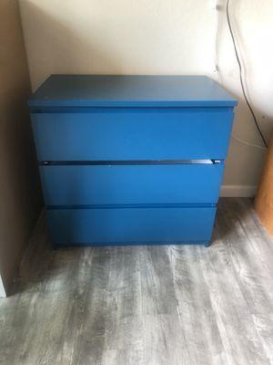 Blue dresser for Sale in Cupertino, CA