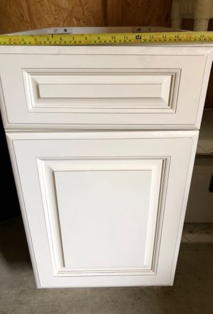 Antique White Kitchen Cabinet Drawer for Sale in Riverside, CA