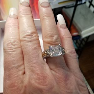 Beautiful 925 Stamped 3 Ct Ring. Stunning! for Sale in Coronado, CA