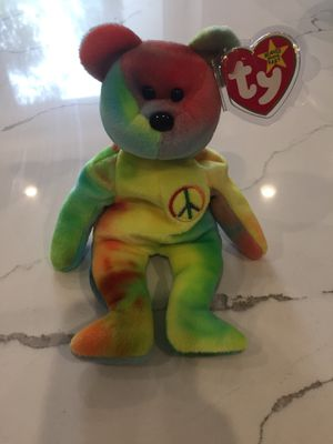 Rare peace beanie baby for Sale in Lincoln, NE