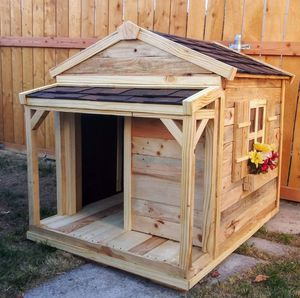 Solid Wood Large Dog House for Sale in Bluffdale, UT