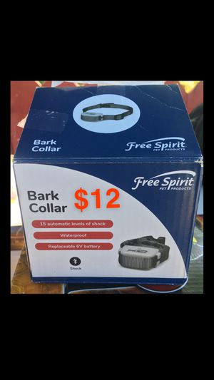 Bark collar for Sale in Tracy, CA