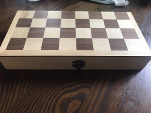 Compact chess set for Sale in Portland, OR