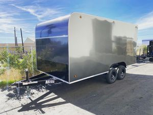 Enclosed Trailer 8.5x16x7 (Spring Over) for Sale in Los Angeles, CA