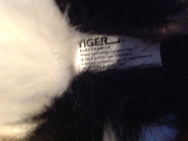 Vintage Tiger Brand Lulu The Cat (Furreal Friends)