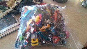 bag full of hot wheel style cars for Sale in Ailey, GA
