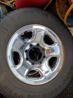 4 Dodge 8 lug stock wheels and tires for Sale in Snohomish, WA