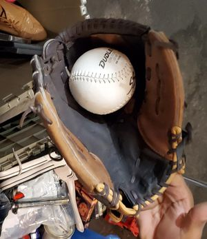 Baseball glove with ball for Sale in Las Vegas, NV