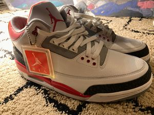 Air Jordan 3 Fire Red (Size 11) for Sale in Tacoma, WA