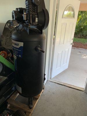 Kobalt 60 Gallon Cast Iron Air Compressor for Sale in Leesburg, FL