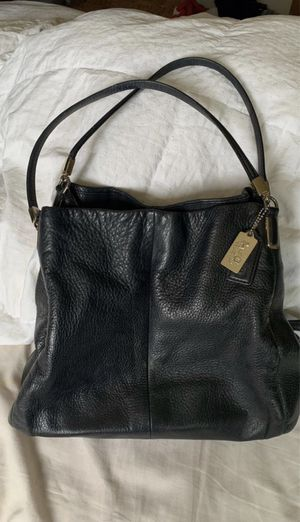 Leather Coach Tote for Sale in Spokane Valley, WA