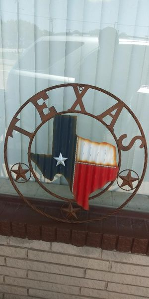 "New 24"" Corrugated Metal Texas Map for Sale in Lancaster, TX"