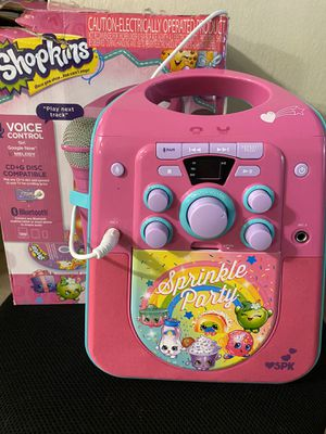 Shopkins Bluetooth Karaoke Machine for Sale in San Leandro, CA