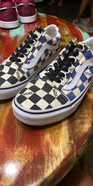 Checkered Vans for Sale in Fresno, CA