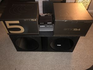 Car sound system for Sale in Houston, TX