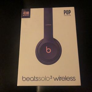 Beatssolo3 Wireless Pop Violet for Sale in Los Angeles, CA