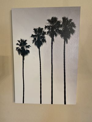 Medium palm tree art painting - Home Decor for Sale in San Marcos, TX