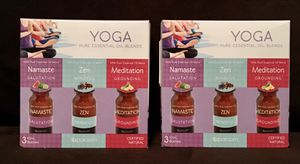 SPAROOM Yoga 3-Pack Essential Oils (2) BOXES! for Sale in Gainesville, FL