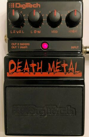 Digitech Death metal guitar pedal for Sale in Herndon, VA