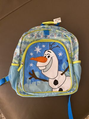 New Disney store in JCP Olaf backpack for Sale in Zephyrhills, FL